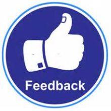 Det finns inga misslyckanden – bara feedback!