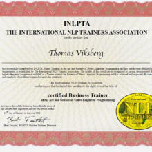 Certified NLP Business Trainer